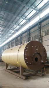 Horizontal Gas Fired Steam Boiler (WNS Series) pictures & photos