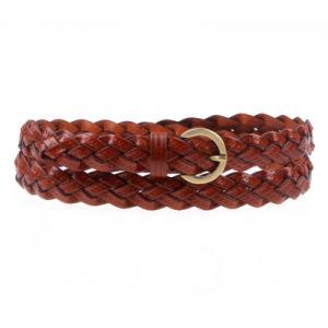 New Latest Ladies′ Fashion PU Braid Weave Belt