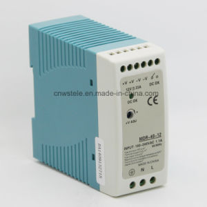 Mdr-40 40W Mini-DIN Rail Switching Power Supply pictures & photos