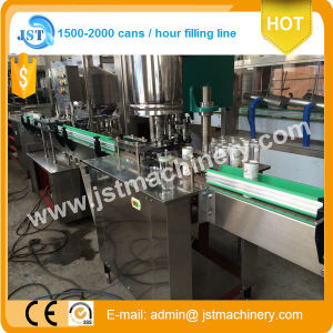 Monobloc 2 in 1 Juice Can Filling Sealing Machine pictures & photos