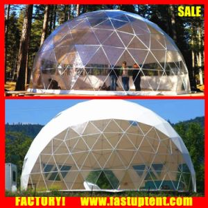 New Big Geodesic Round Dome Steel Frame Tent for Sale pictures & photos