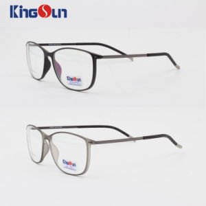 Tr90 Slim Frame with Steel Temple Optical pictures & photos