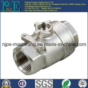 OEM High Quality Aluminum Casting and Machining Female Connector pictures & photos