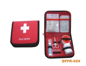 Travel First Aid Kit with 17.5*13.5*3cm pictures & photos
