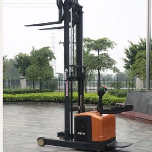 China OEM Supplier Forklift Truck Electric Reach Stacker (CQD16) pictures & photos