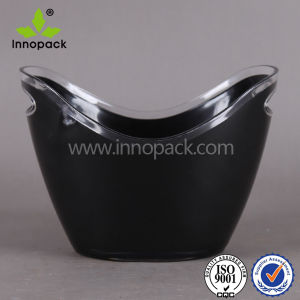 Plastic Acrylic Beer Holder Ice Bucket pictures & photos