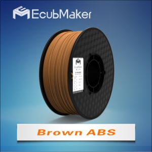 1.75mm ABS Filament for 3D Printer Brown Color pictures & photos