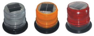 Solar Powered LED Strobe Warning Beacon Light pictures & photos