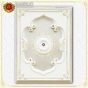 White Beautiful Artistic Ceiling European Styel for Home Decoration (BRD1420-F-024) pictures & photos
