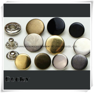 Metal Button Fastener Fashion Spring Snap Button