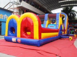 Commercial Inflatable Obstacle Course Run for Children Chob530 pictures & photos