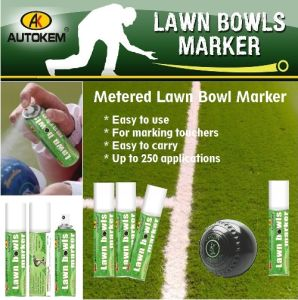 Coloured Lawn Bowls Marker, Spray Chalk, Water Washable pictures & photos