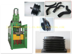 PLC Vertical Rubber Silicone Injection Molding Machine for Auto Parts Made in China pictures & photos