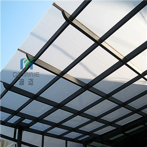 Costom Polycarbonate Awning Panel pictures & photos