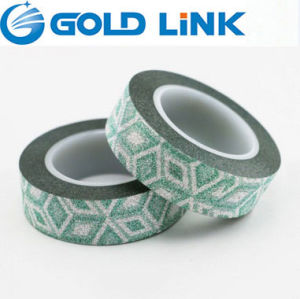 Glitter Washi Paper Masking Tape pictures & photos