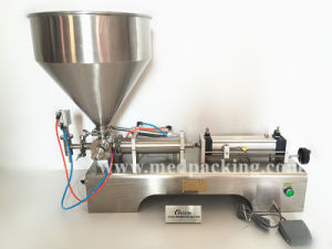 Pneumatic Filling Machine for Cream/ Shampoo/ Cosmetic (5-100ml)