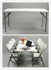 2016 New 4FT Folding Rectanglar Table pictures & photos