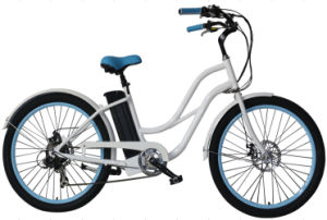 250W Power Assisted Cruiser Bicycle for Ladies with Bicycle Hub Motor pictures & photos