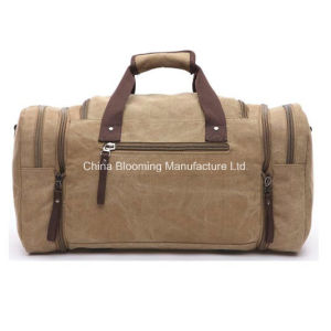 Sports Canvas Travel Outdoor Duffle Gym Carrier Weekend Bag pictures & photos