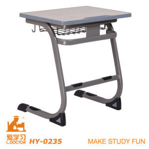 MDF Steel Tube College Student Desk and Chair pictures & photos