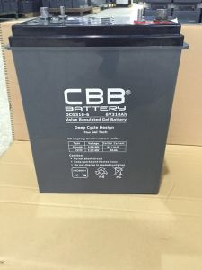 Wholesale China Cbb Battery 6V310ah Deep Cycle Gel Battery pictures & photos