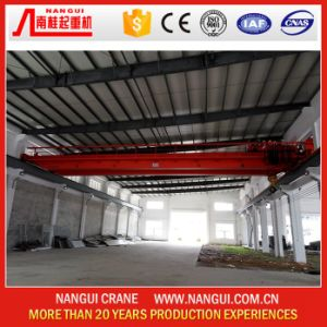 Motor-Driven 15 Ton Single Girder Overhead Crane for Sale