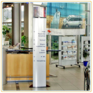 Indoor Free-Standing Directional Pylons Signs pictures & photos
