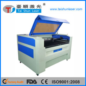 CNC Control 100W Rubber Laser Cutting Machine pictures & photos