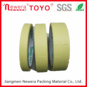 High Resistence Crepe Paper Masking Tape for Automotive pictures & photos