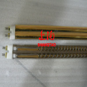 Half-Gold Reflector Quartz Twin Tube (8-shape tube) pictures & photos