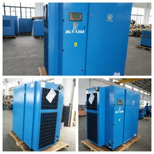 90kw Screw Air Compressor Machine pictures & photos