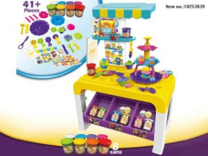 Electronic Cash Register with Light and Music Toys for Kids pictures & photos