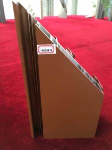 High Quality Powder Spraying Curtain Wall Aluminum Profiles pictures & photos