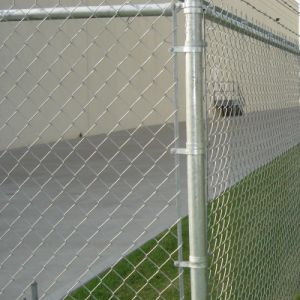 Garden Galvanized &PVC Coated Chain Link Fence Fabric pictures & photos