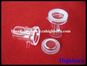 Heat Resistance Transparent Silica Quartz Glass Crucible with Lid pictures & photos