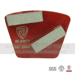 Fan Shape Diamond Floor Grinding Pad for Surface Refresh pictures & photos