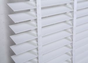 PVC 50mm Wand Tilter Tape Ladder Interior Decorative Horizontal Venetian Blinds pictures & photos