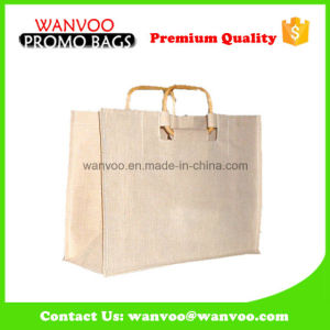 OEM Round Handle Jute Bag with Nature Color pictures & photos