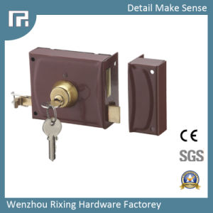 Mechanical Rim Door Lock (3425-120) pictures & photos