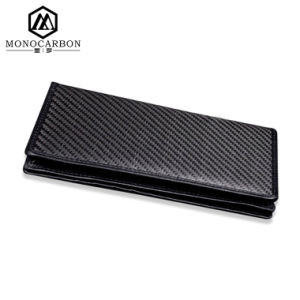 Top Quality Real Carbon Fiber Geniune Leather Long Wallet pictures & photos