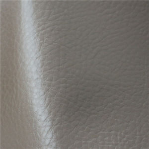 in-Stock Supply Solvent-Free PU Leather for Reupholstery Furniture Industry pictures & photos