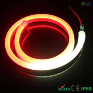 24V 15*26mm Flat Digital RGB LED Neon Light with SMD5050 pictures & photos