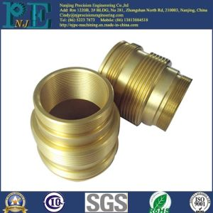 Customized Brass CNC Machinery Inner and Outer Screw Pipe pictures & photos