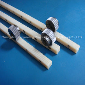 Plastic Mc Nylon Gear Rack with Good Wear Resistance pictures & photos
