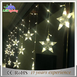 Outdoor Decoration 20LED Battery Operation Patio Metal Drop String Lights pictures & photos