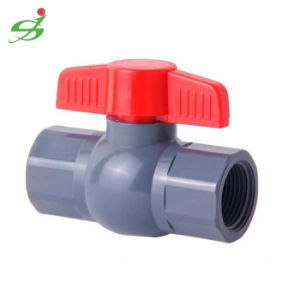 High Quality UPVC Ball Valve with Thread pictures & photos