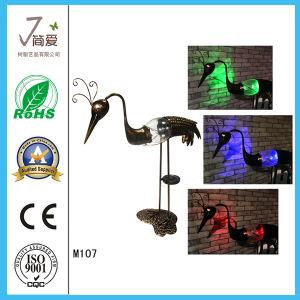 Hot Sale Crane Shape Iron Decoration/Ornaments pictures & photos