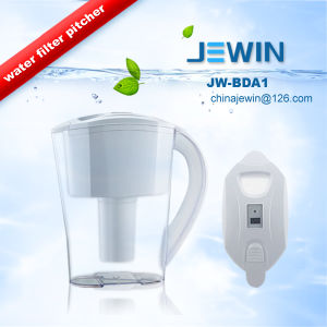 Activated Carbon Water Filter Pitcher with Counter pictures & photos