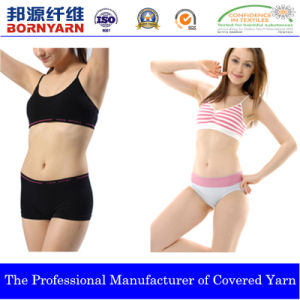 Covered Yarn with Spandex and Nylon or Polyester pictures & photos