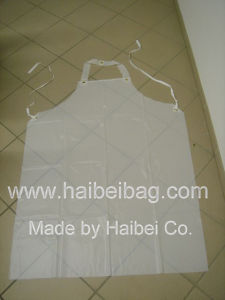 Oil-Proof PVC Apron, Rubber Apron, with Option of Only Sale of Fabric and Accessories pictures & photos